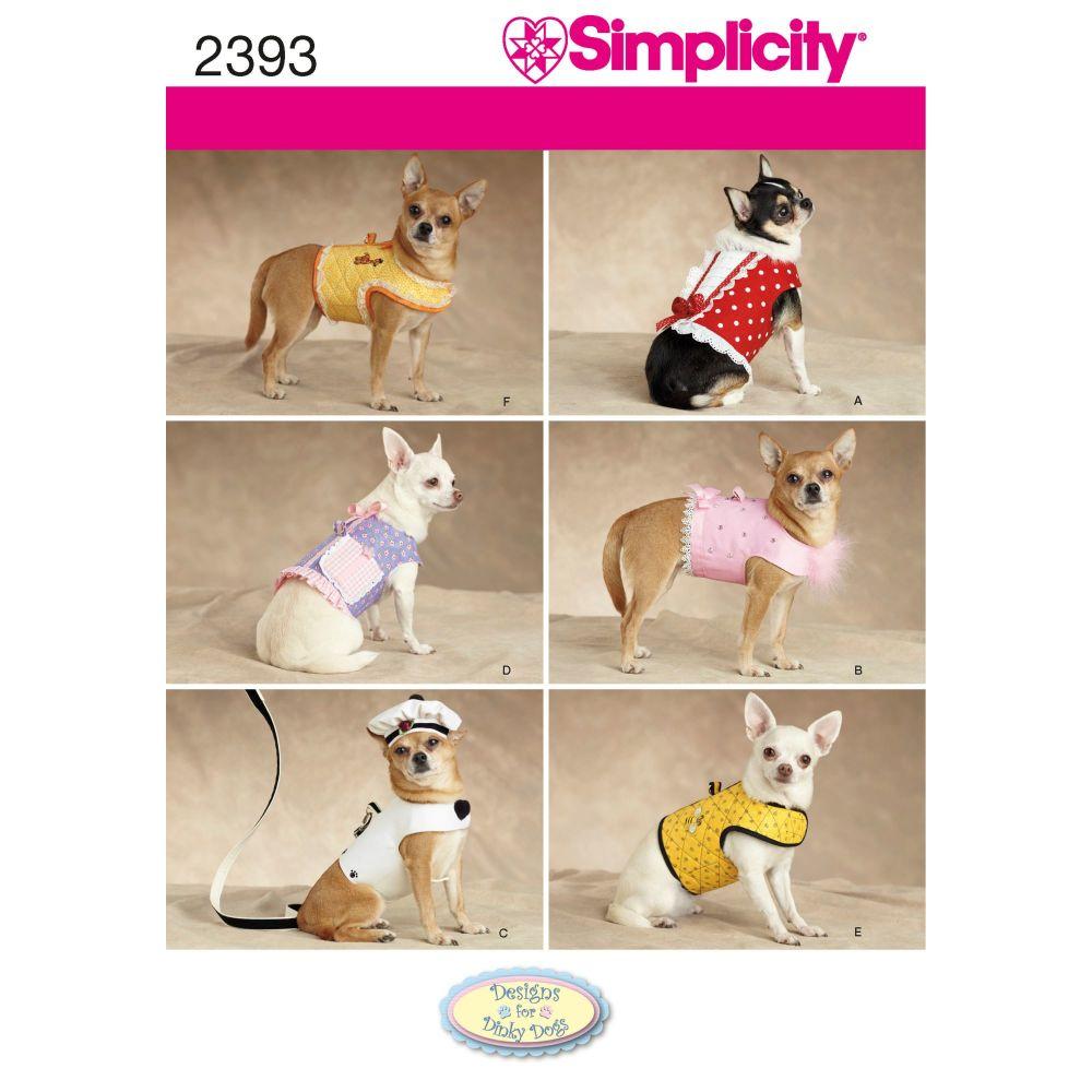 S2393 Simplicity sewing pattern A (XXS-XS-S-M)