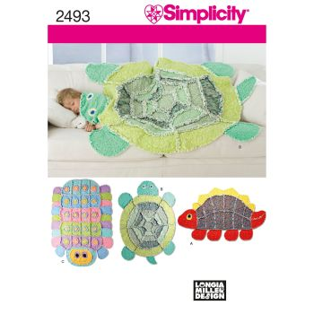S2493 Simplicity sewing pattern OS (ONE SIZE)