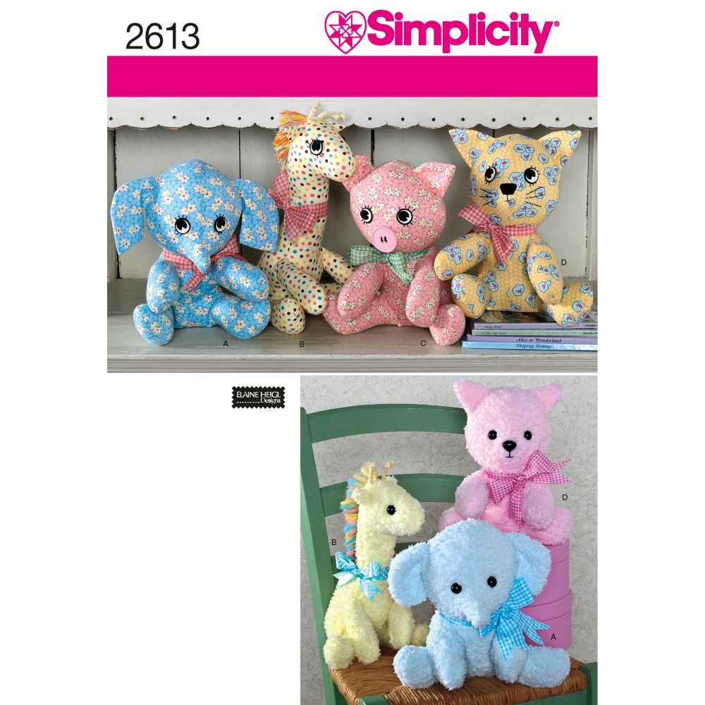 S2613 Simplicity sewing pattern OS ONE SIZE