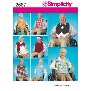 S2687 Simplicity sewing pattern OS ONE SIZE