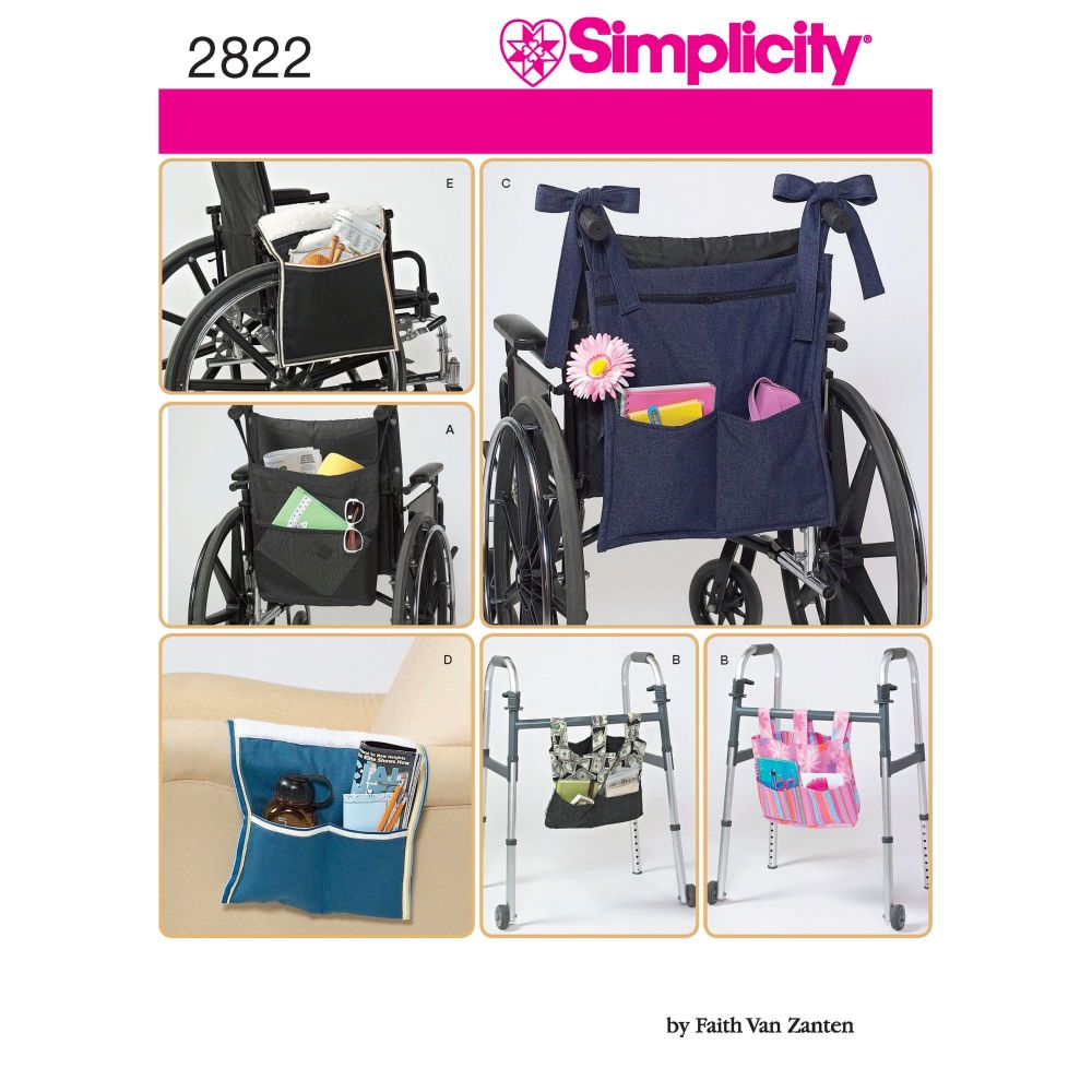 S2822 Simplicity sewing pattern OS (ONE SIZE)