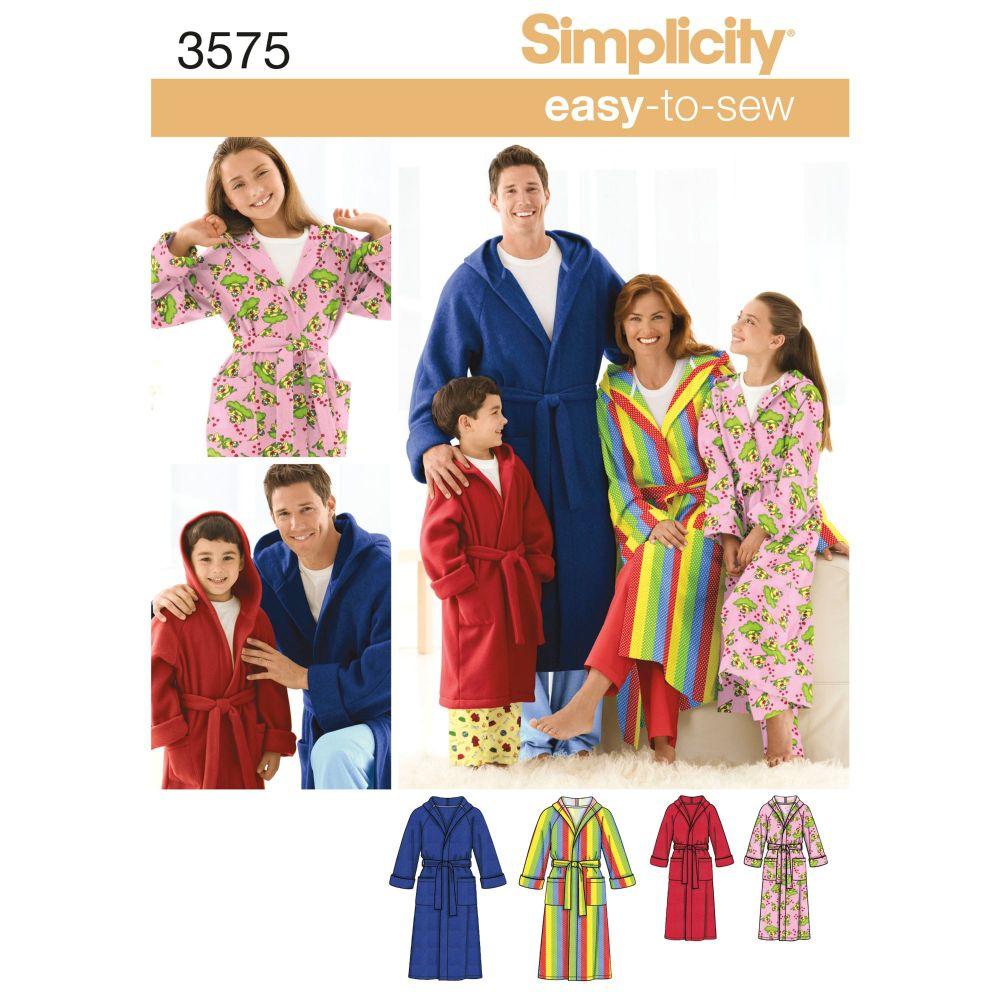 S3575 Simplicity sewing pattern A (XS-L / XS-XL)