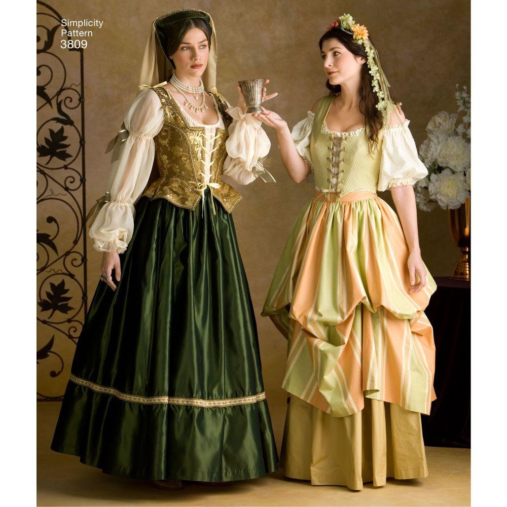simplicity-costumes-adult-pattern-3809-AV1