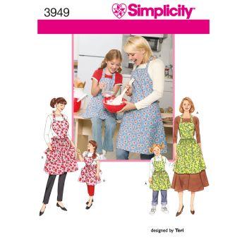S3949 Simplicity sewing pattern A (S-M-L / S-M-L)
