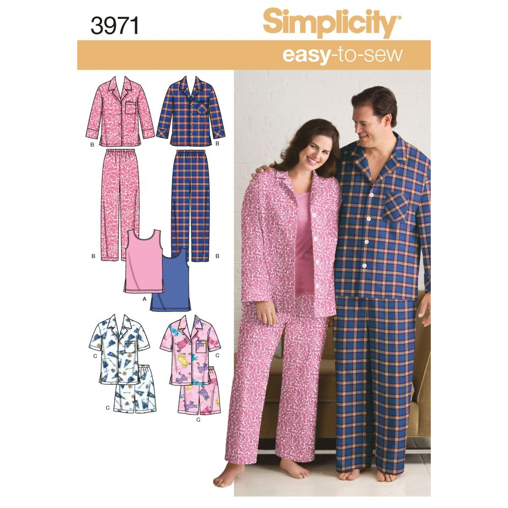 S3971 Simplicity sewing pattern AA (S,M,L)