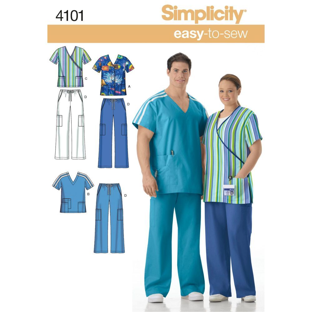 S4101 Simplicity sewing pattern AA (S,M,L)
