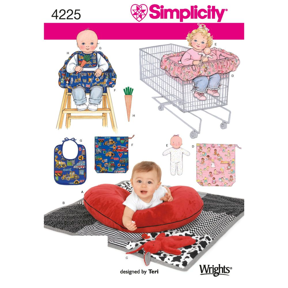 S4225 Simplicity sewing pattern OS (ONE SIZE)