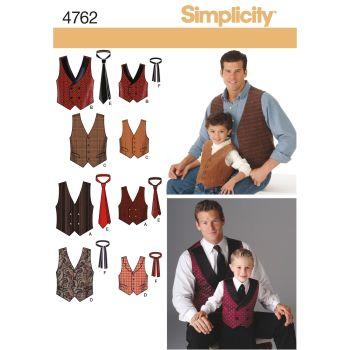 S4762 Simplicity sewing pattern A (S M L/S M L XL)