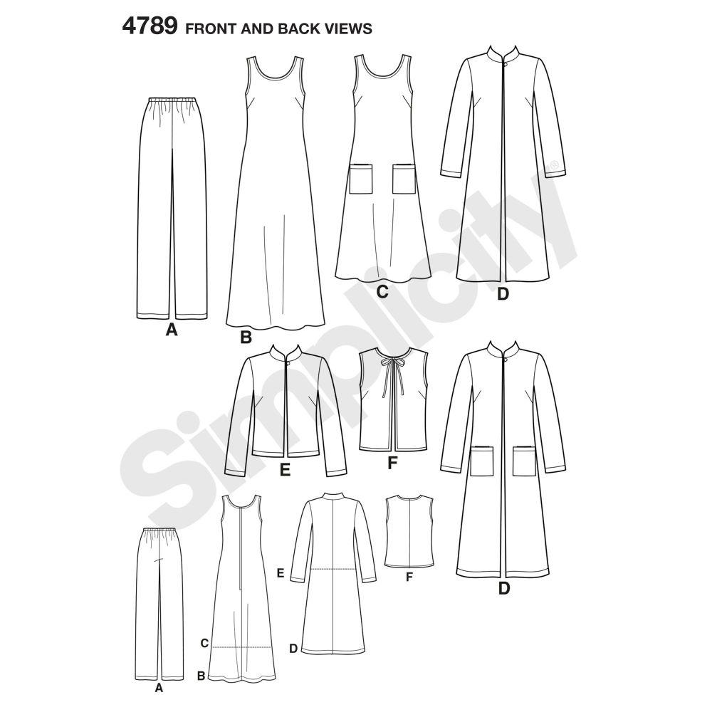 simplicity-sportswear-pattern-4789-front-back-view