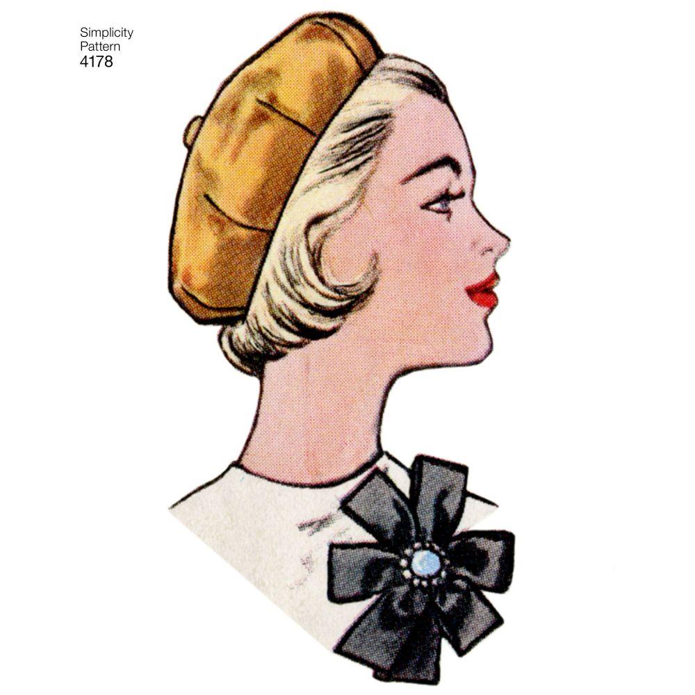 simplicity-vintage-accessories-hats-pattern-4178-AV4