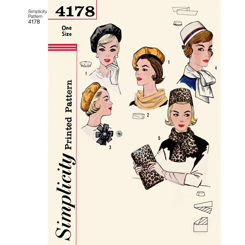 simplicity-vintage-accessories-hats-pattern-4178-AV1