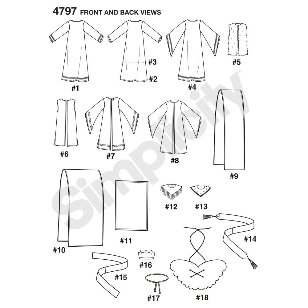 simplicity-children-pattern-4797-front-back-view