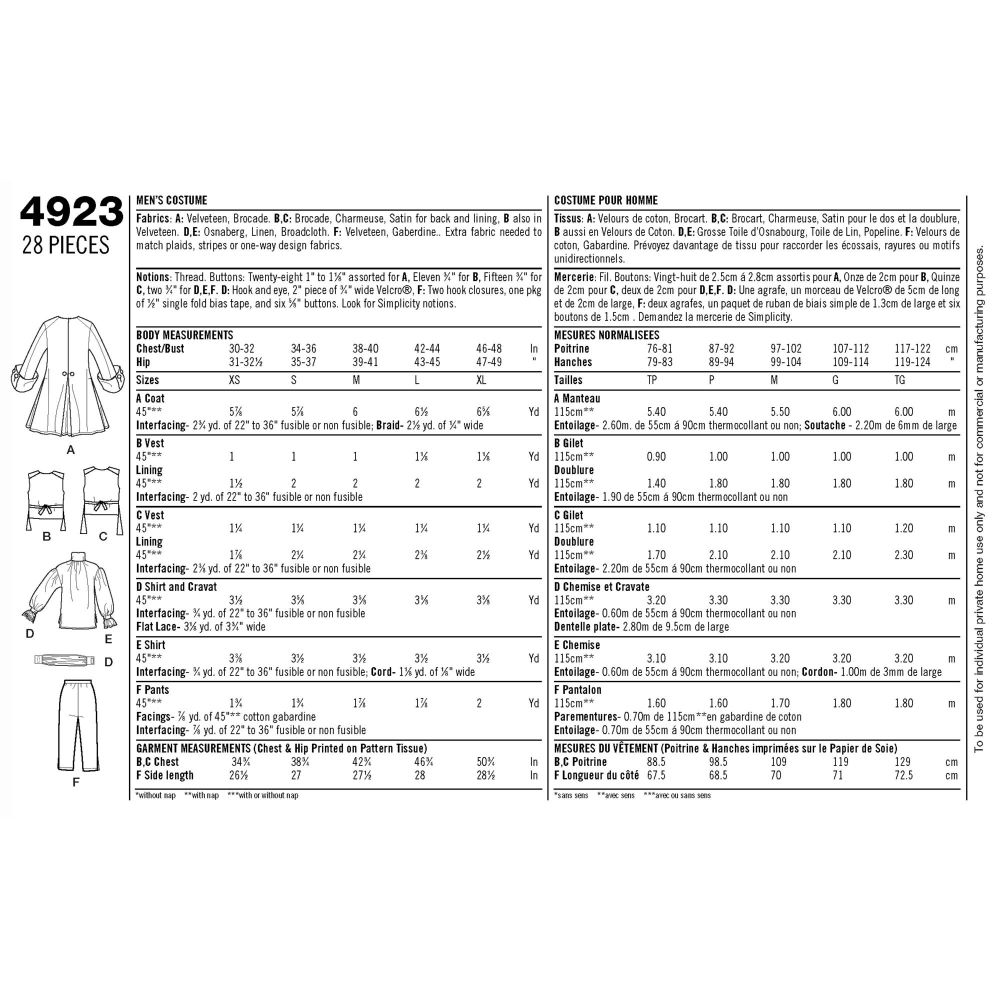 simplicity-costumes-pattern-4923-envelope-back