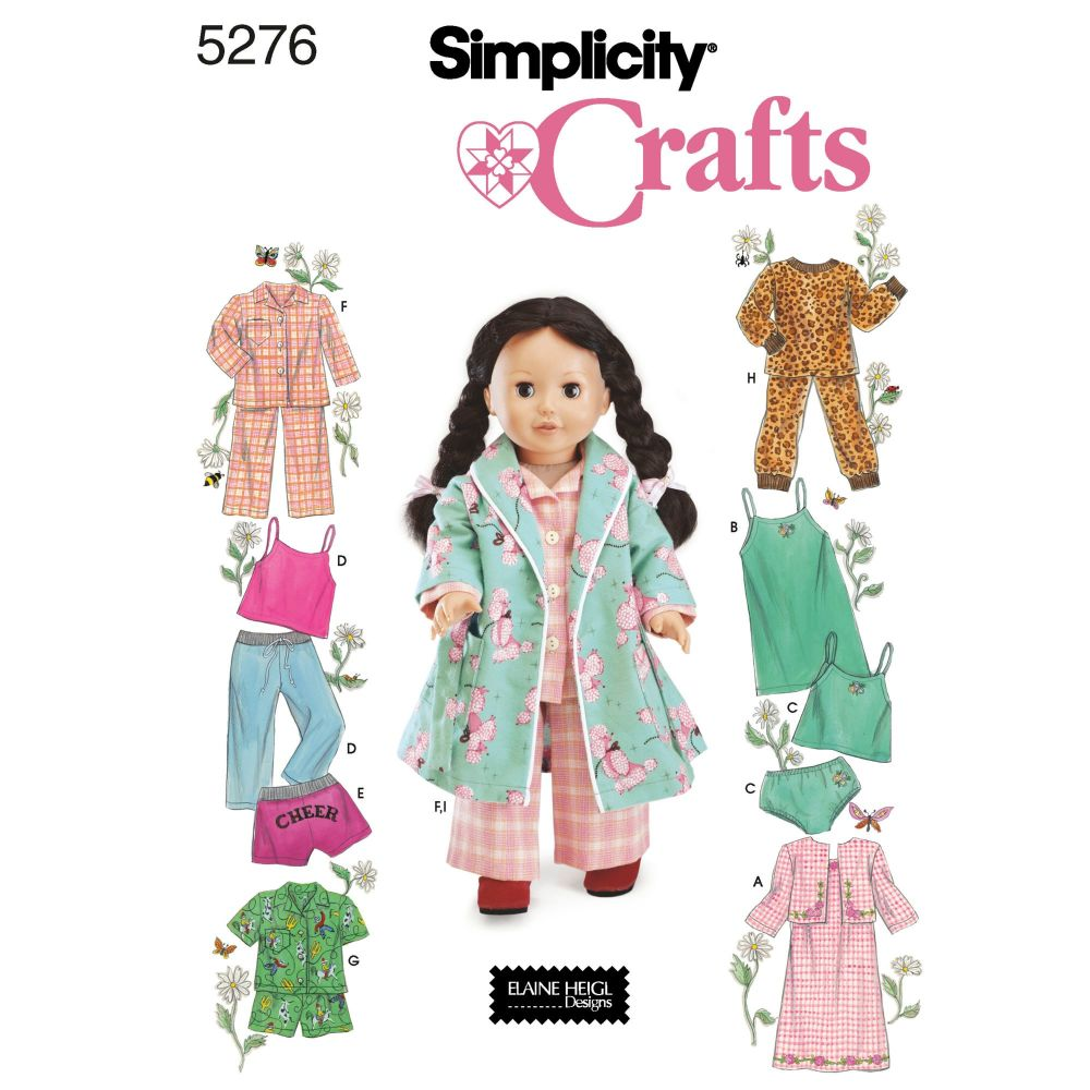 S5276 Simplicity sewing pattern OS (ONE SIZE)