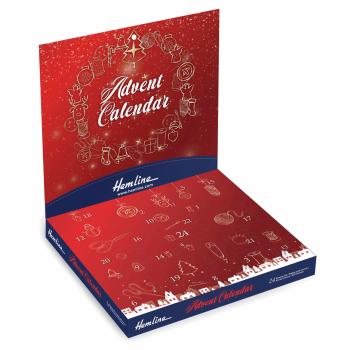 Hemline Christmas Advent Calendar