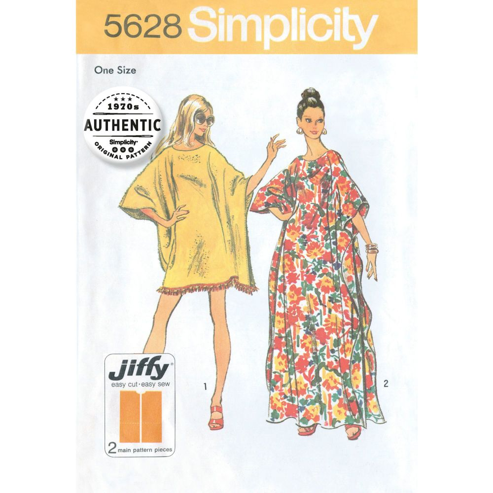 S5628 Simplicity sewing pattern OS (ONE SIZE)