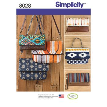 S8028 Simplicity sewing pattern OS (ONE SIZE)