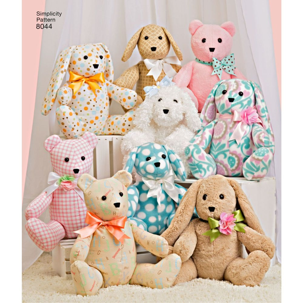 simplicity-stuffed-animals-pattern-8044-AV1