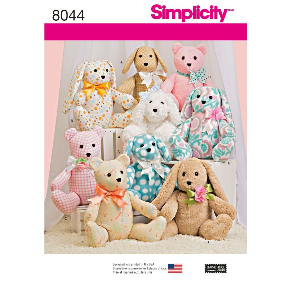 S8044 Simplicity sewing pattern OS (ONE SIZE)