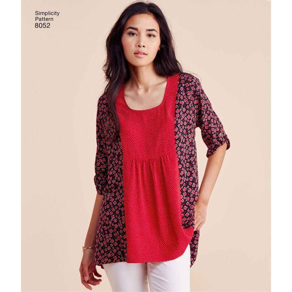 simplicity-tops-vests-pattern-8052-AV2