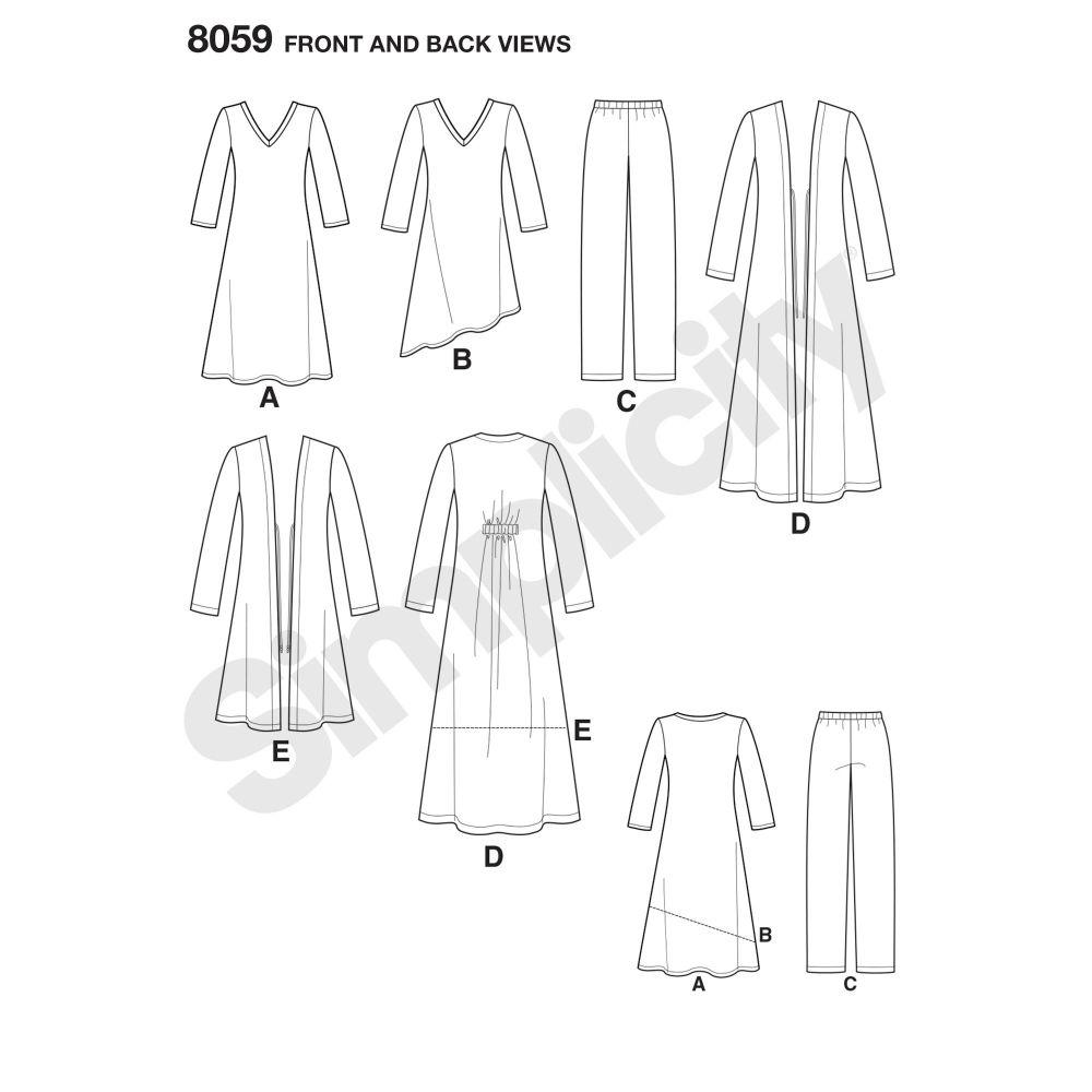 simplicity-sportswear-pattern-8059-front-back-view