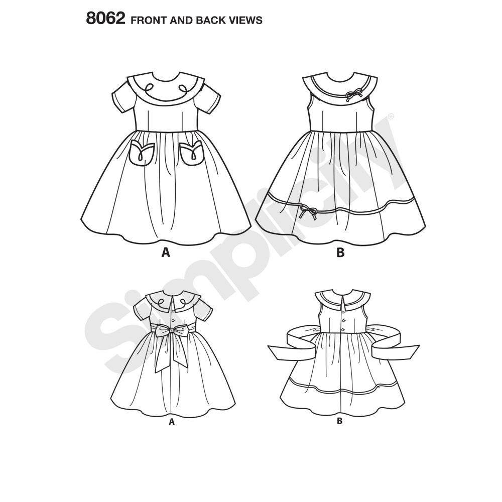 simplicity-babies-toddlers-pattern-8062-front-back-view