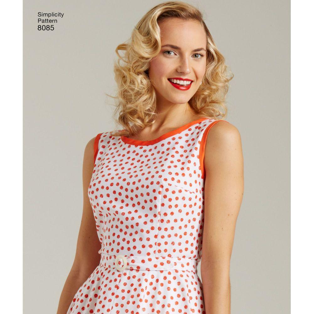 simplicity-dresses-pattern-8085-AV1A