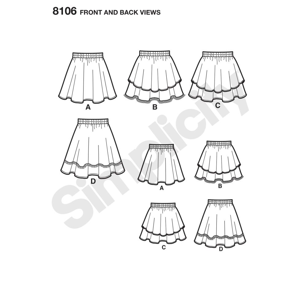 simplicity-girls-pattern-8106-front-back-view