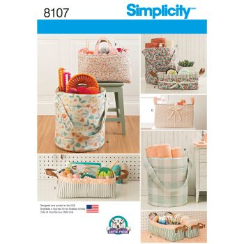 S8107 Simplicity sewing pattern OS (ONE SIZE)