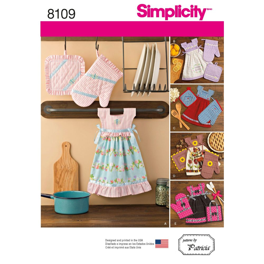S8109 Simplicity sewing pattern OS (ONE SIZE)