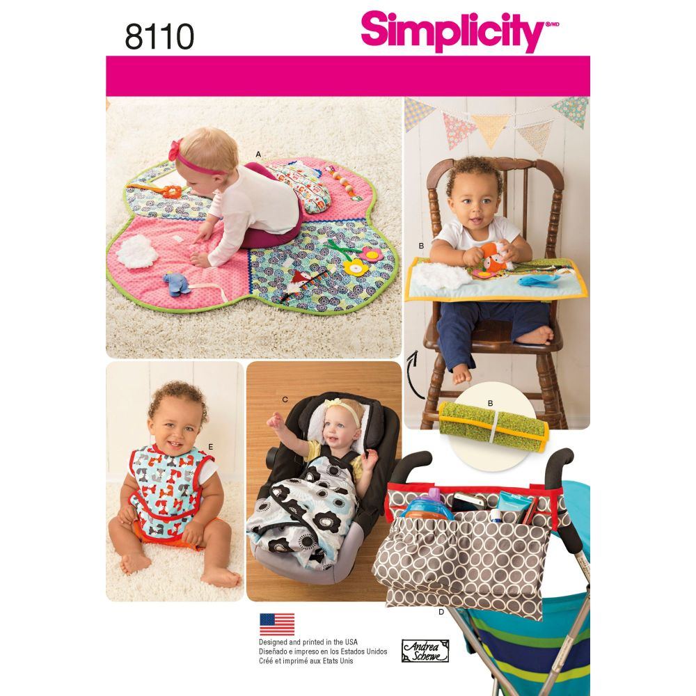 S8110 Simplicity sewing pattern OS (ONE SIZE)