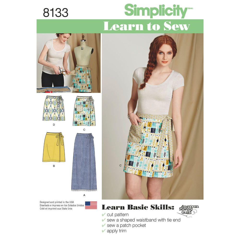 S8133 Simplicity sewing pattern A (6-8-10-12-14-16-18)