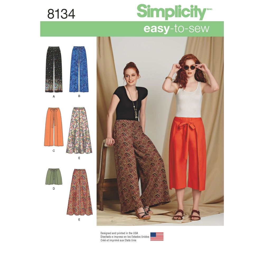 S8134 Simplicity sewing pattern H5 (6-8-10-12-14)