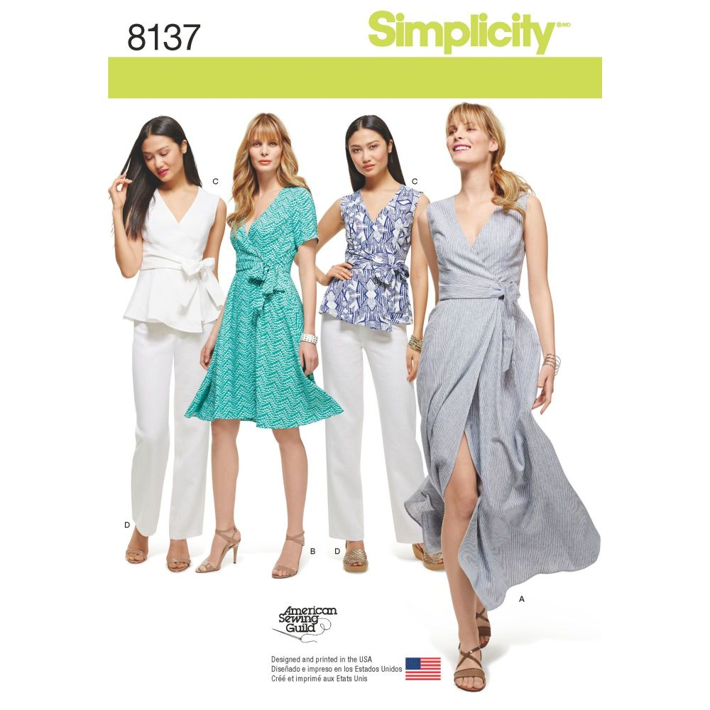S8137 Simplicity sewing pattern BB (20W-28W)