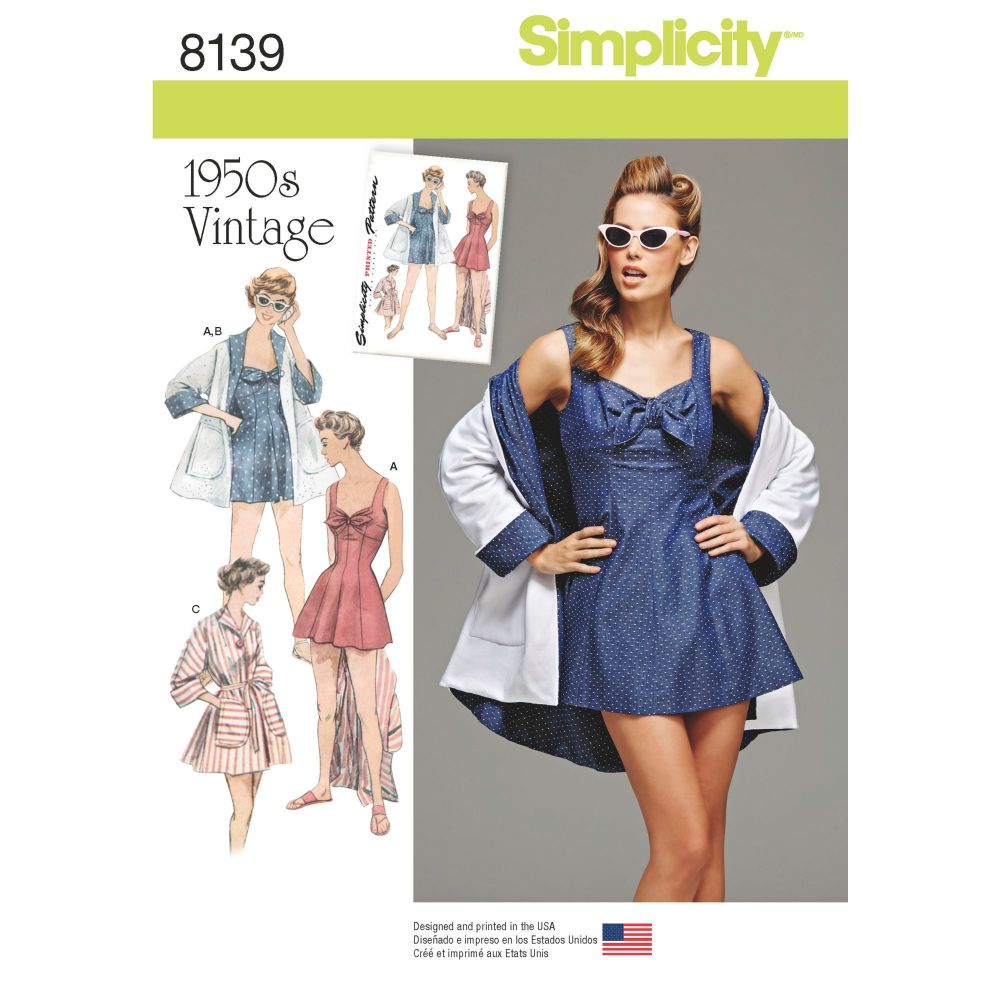 S8139 Simplicity sewing pattern H5 (6-8-10-12-14)