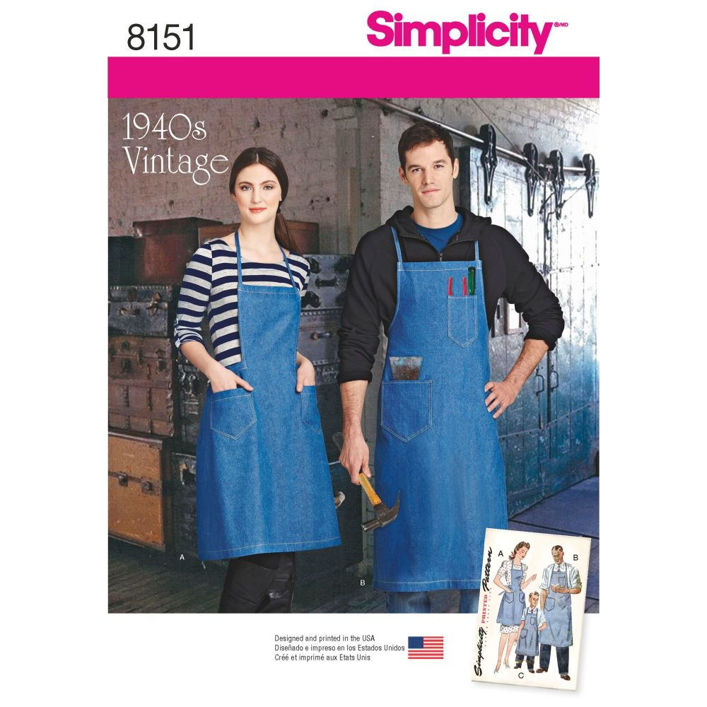 S8151 Simplicity sewing pattern A (ALL SIZES)