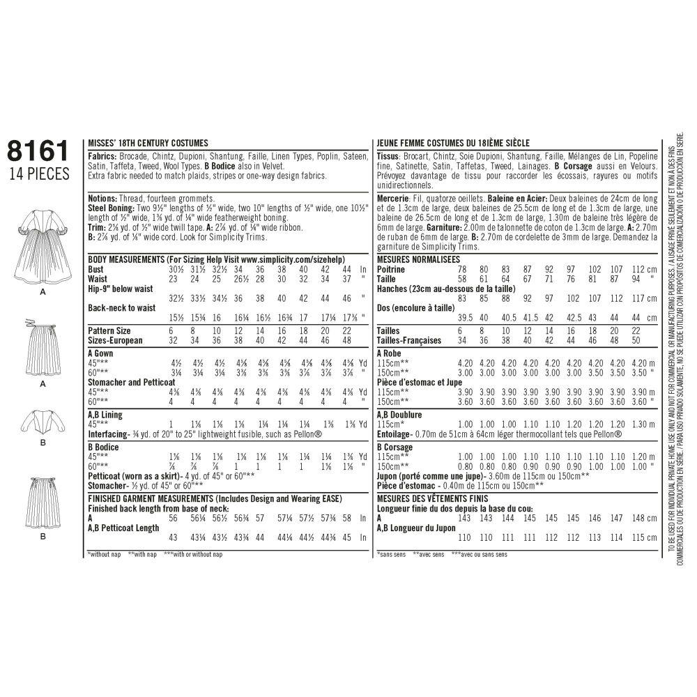 simplicity-costumes-pattern-8161-envelope-back
