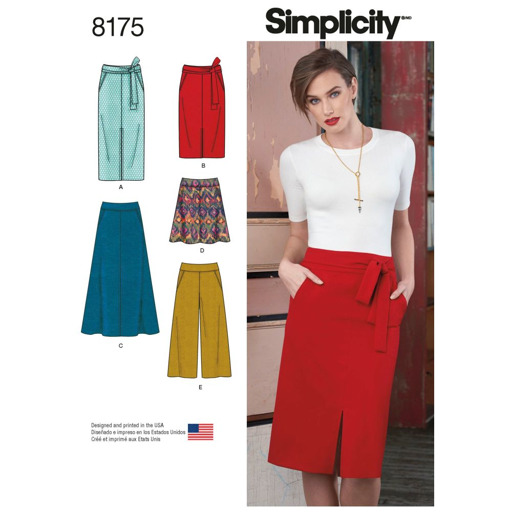 S8175 Simplicity sewing pattern H5 (6-8-10-12-14)