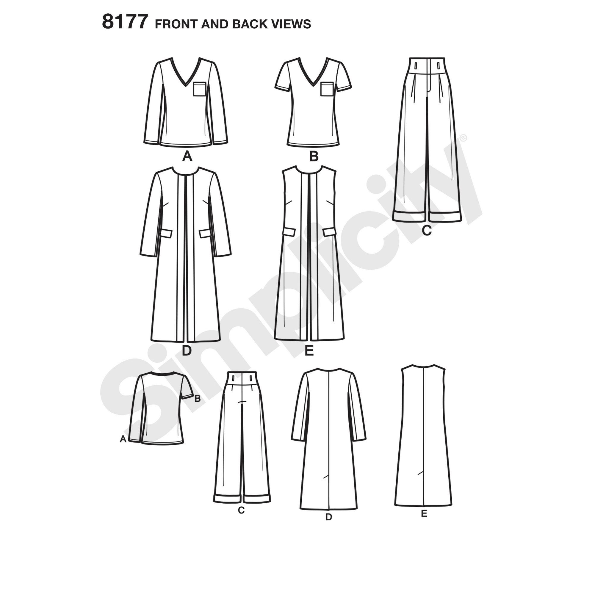 simplicity-sportswear-pattern-8177-front-back-view
