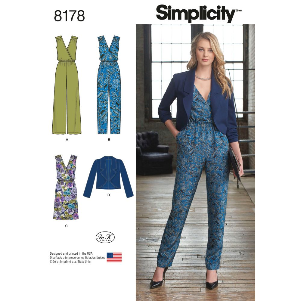 S8178 Simplicity sewing pattern H5 (6-8-10-12-14)