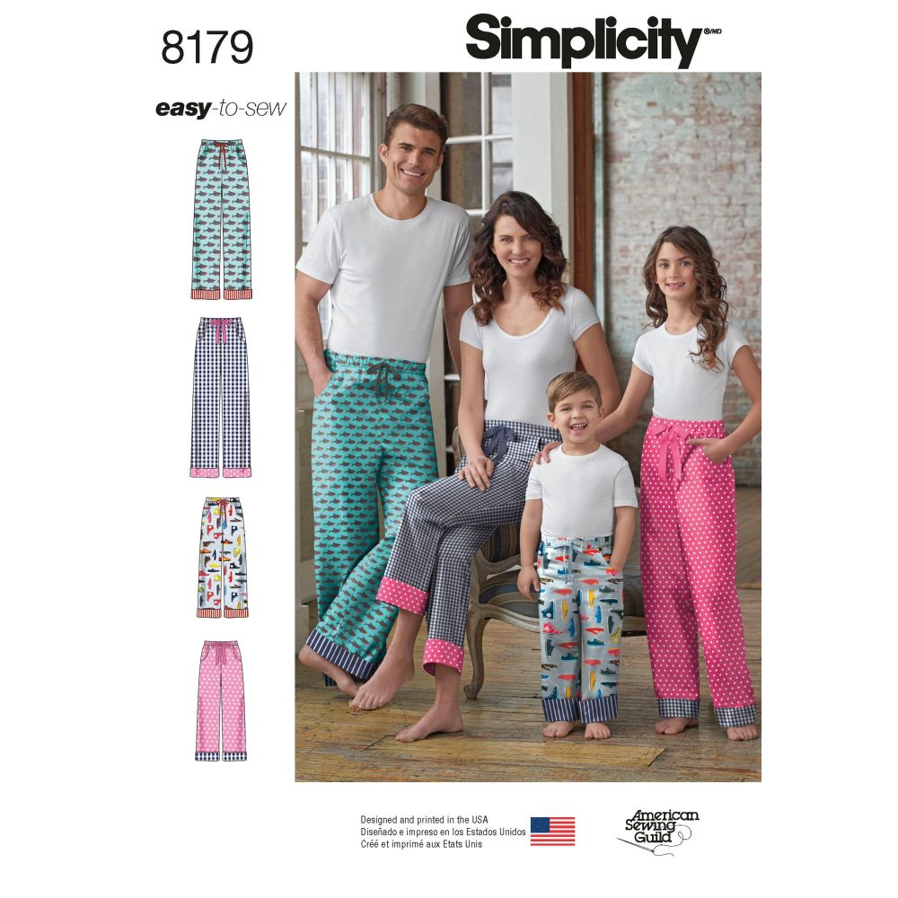 S8179 Simplicity sewing pattern A (XS - L / XS - XL)