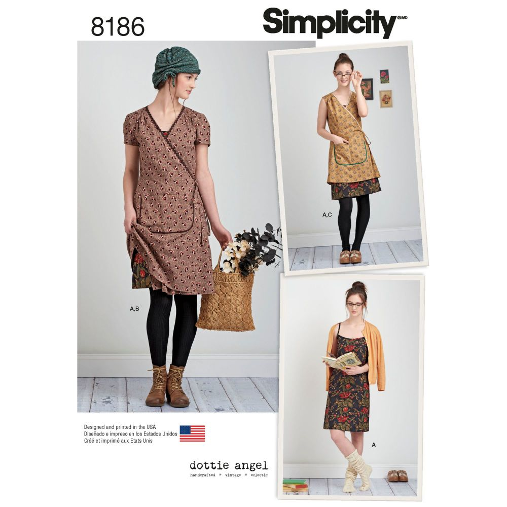 S8186 Simplicity sewing pattern D5 (4-6-8-10-12)