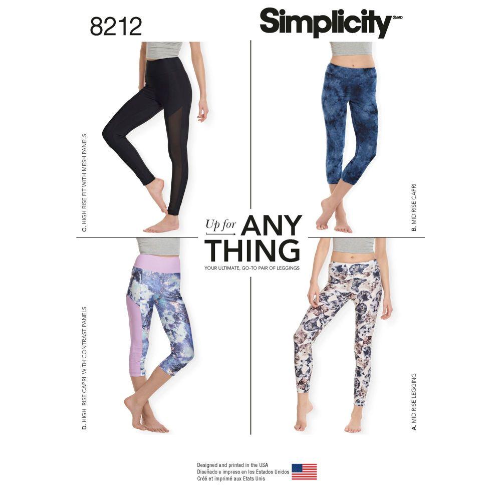 S8212 Simplicity sewing pattern A (XXS-XS-S-M-L-XL-XXL)