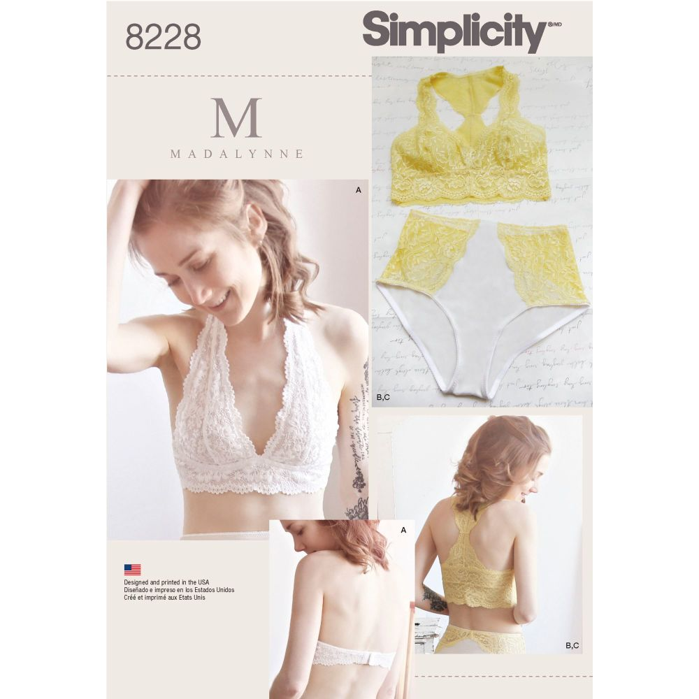 S8228 Simplicity sewing pattern A (ALL SIZES)
