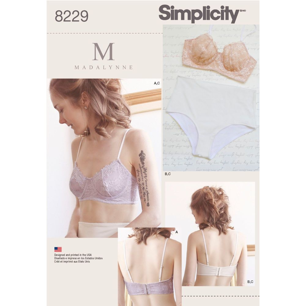 S8229 Simplicity sewing pattern A (ALL SIZES)