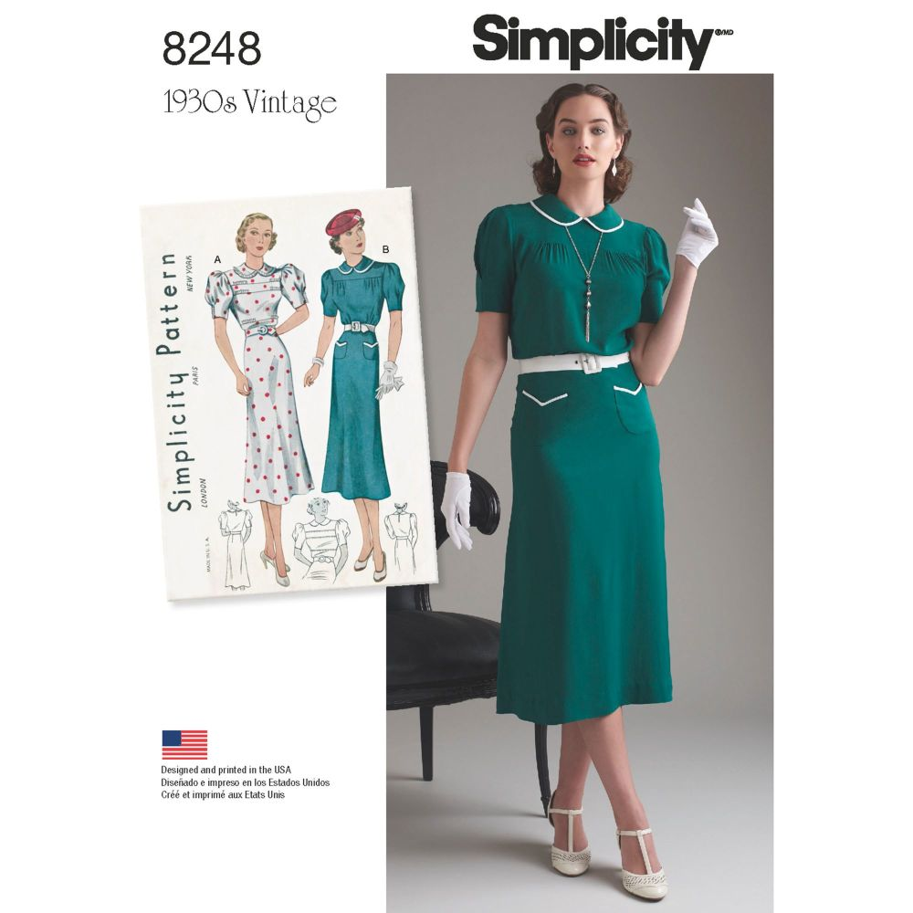 S8248 Simplicity sewing pattern P5 (12-14-16-18-20)