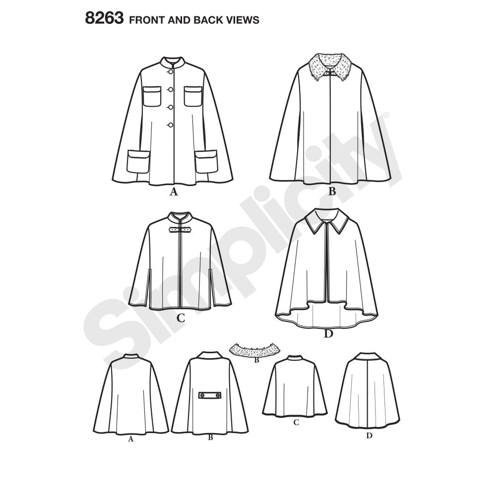 simplicity-jackets-coats-pattern-8263-front-back-view