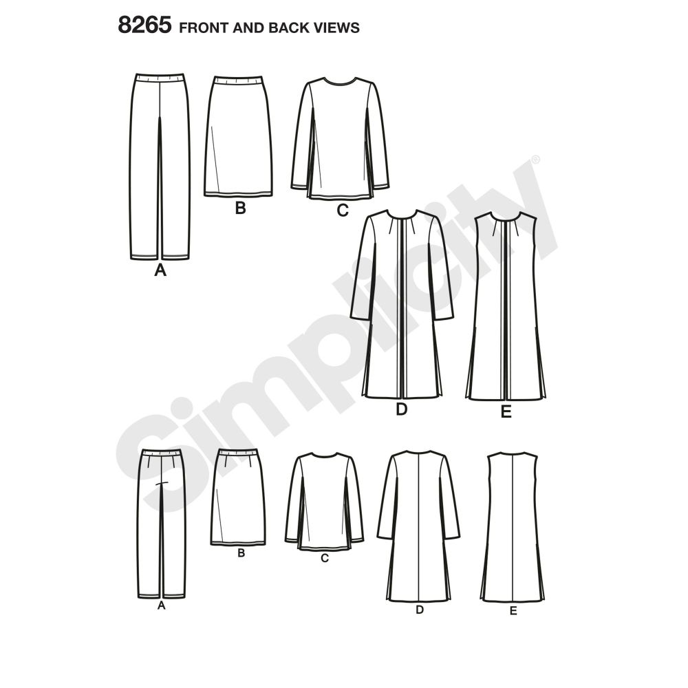 simplicity-sportswear-pattern-8265-front-back-view
