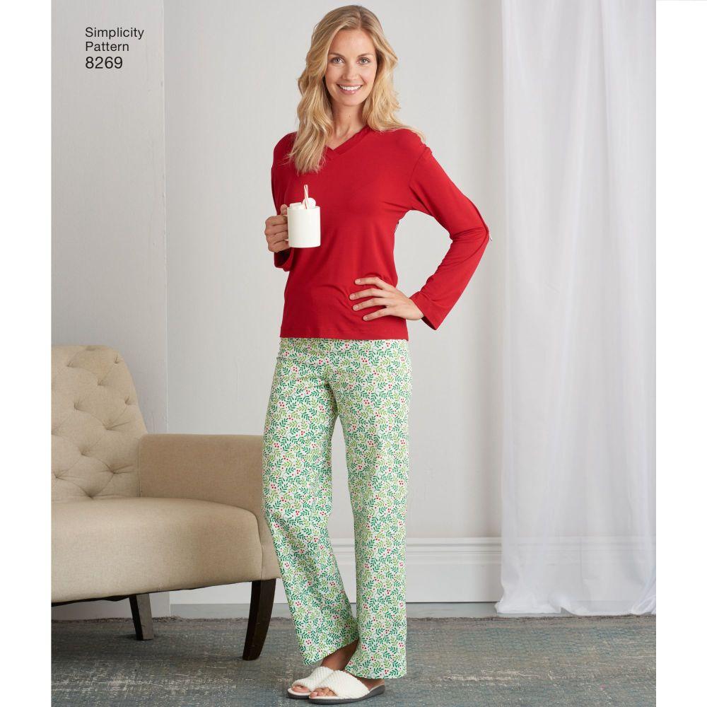 simplicity-sleepwear-pattern-8269-AV2B