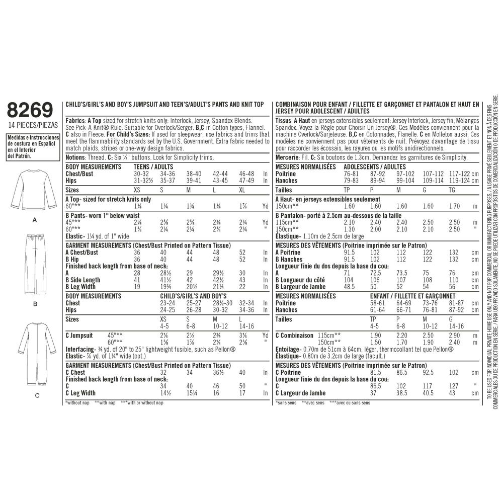 simplicity-sleepwear-pattern-8269-envelope-back